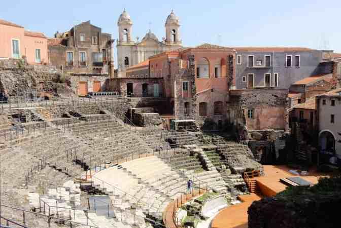 Romeinse theater van Catania