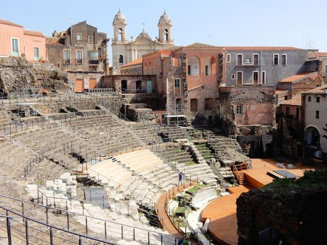 Catania Romeins theater