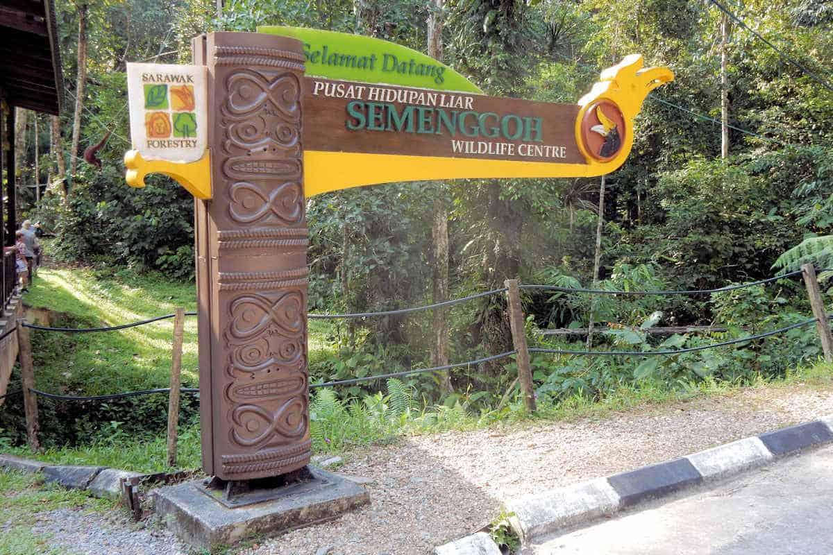 Semenggoh Wildlife Rehabilitation Center, Kuching, Sarawak,