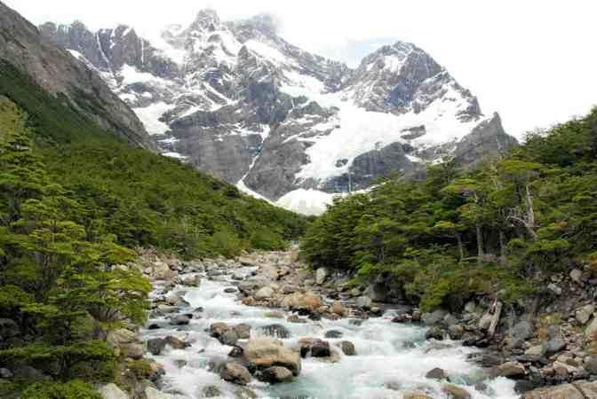 Torres del Paine National, Glaciar del Francés Park, Magallanes