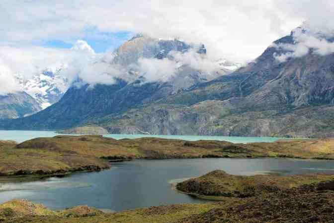 National park Torres del Paine, Mirador Nordenskjöld, Chili