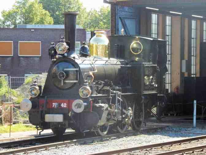 Stoomlocomotief 7742 Nederlandse Spoorwegen - Bello - Stoomtram Hoorn-Medemblik