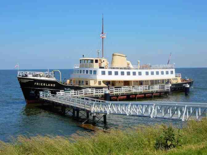 Museumboot De Friesland uit 1956 - Medemblik