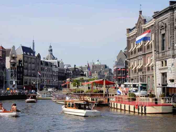 Grachten in Amsterdam - Rokin