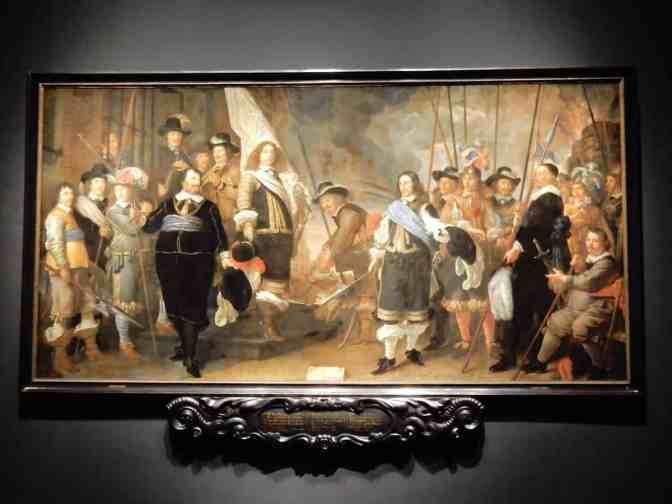 Hermitage - Groepsportretten van de 17e eeuw