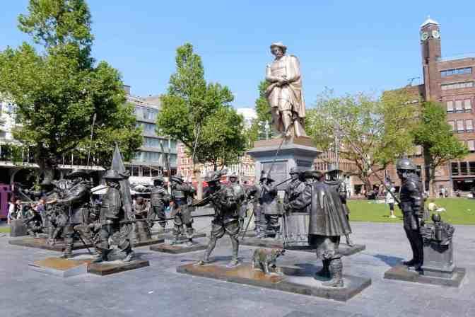Rembrandtplein, Amsterdam, Holland, Nederland