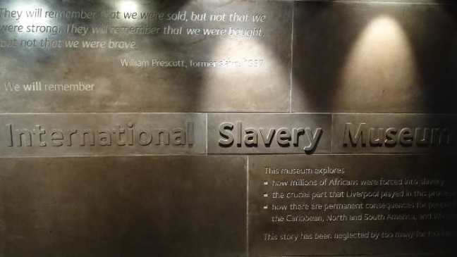 Liverpool 2016: International Slavery Museum - Quotes.