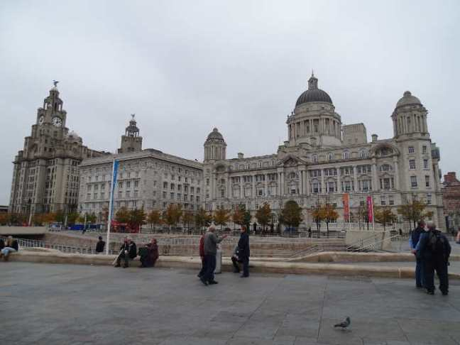 Liverpool 2016: The Three Graces.