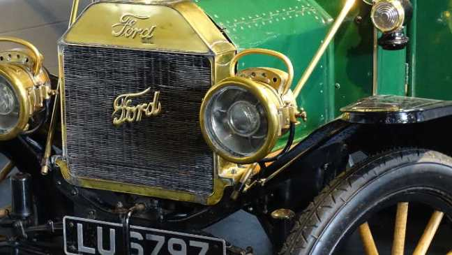 Manchester 2016: Museum of Science & Industry - T-Ford Oldtimer.