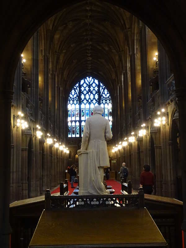 Manchester 2016: The John Rylands Library.