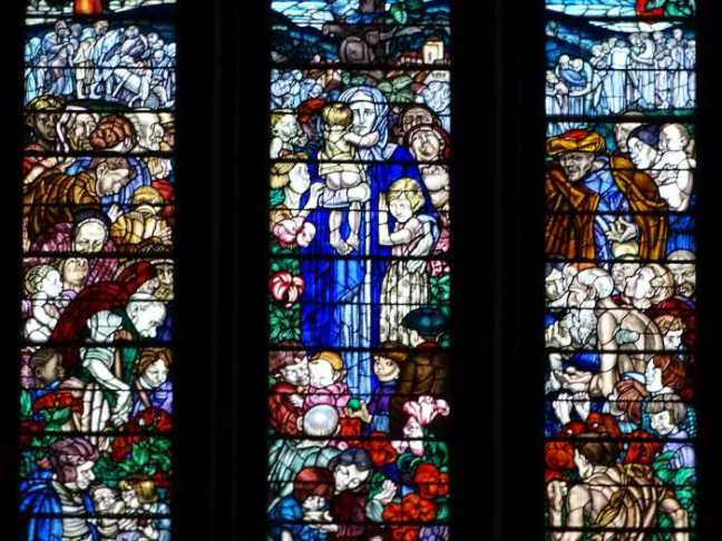St. Patrick's Cathedral - Glasraam.