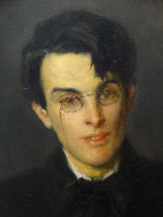 National Gallery Dublin - John Butler Yeats - Portret zoon W.B. Yeats in 1900