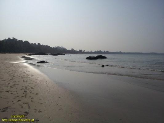Strandspaziergang Ngapali Beach