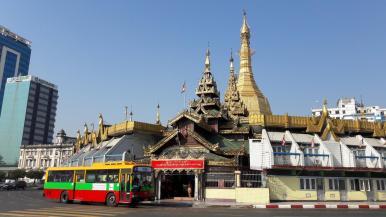 yangon sule pagoda
