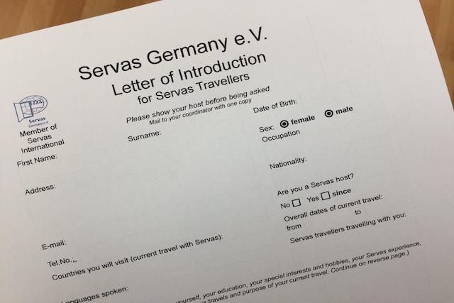 Ein Verein namens SERVAS