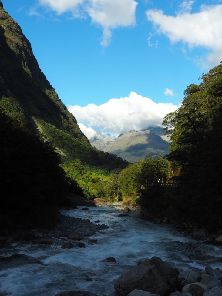 Weg Milford Sound
