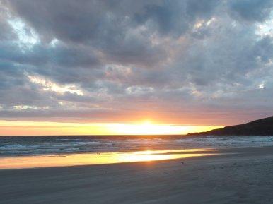 Sonnenuntergang Sandfly Beach