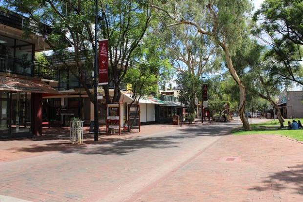 So sieht eine australische Stadt aus