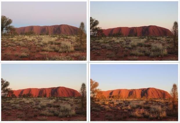 Sonnenaufgang Australien Wüste