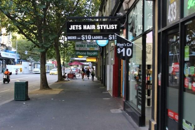 Friseur Melbourn in Australien