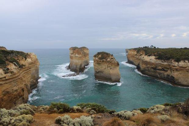 Australien Backpack auf der Great Ocean Road