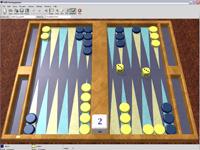 Tolle kostenlose Umsetzung des bekannten Brettspiels Backgammon.