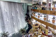 Wasserfall in der Dubai Mall