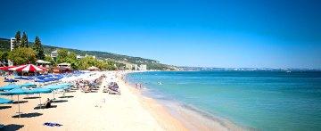 Der Strand in Varna, Bulgarien