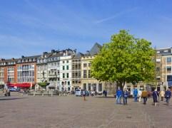 Marktplatz in Aachen