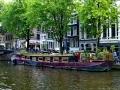 Amsterdam - Hausboot