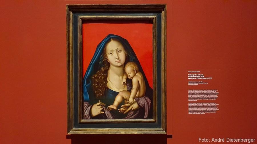 Muttergottes mit dem schlafenden Kind (1514)
