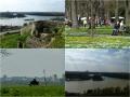 Belgrad - Kalemegdan Park mit Save-Donau Delta