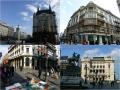 """Belgrad - Hotel """"Moskwa"""", Ulica Knez Mihailova, Der Reiter"""