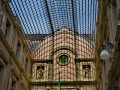 Brüssel - Sankt-Hubertus-Galerien - Glaskuppel