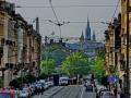 Brüssel - Blick auf Brüssel mit Automium