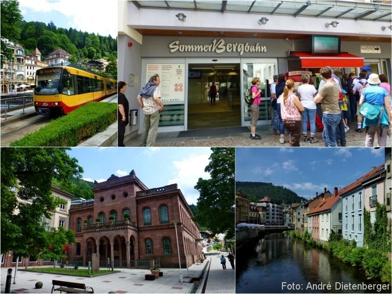 Baumwipfelpfad - Bad Wildbad und Sommerbergbahn Talstation