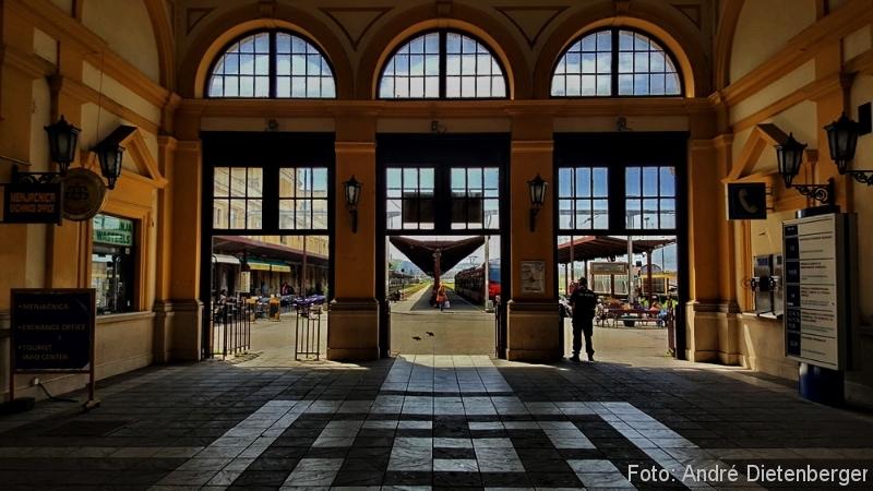 Belgrad - Hauptbahnhof innen