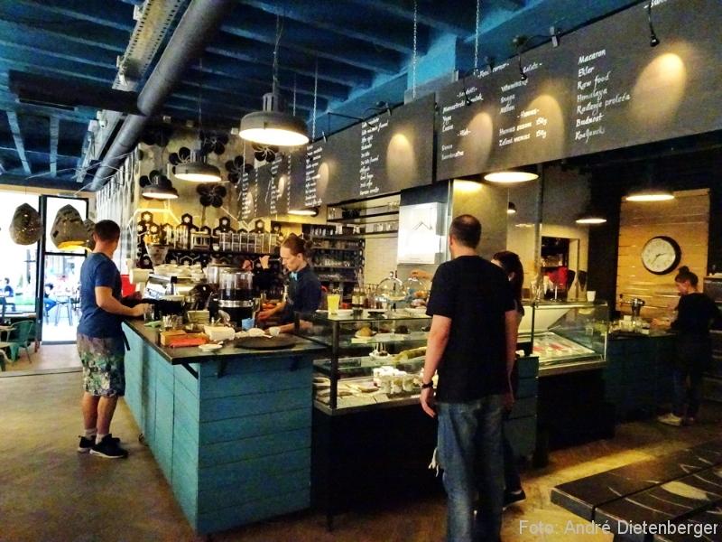 Belgrad - Café Koffein innen