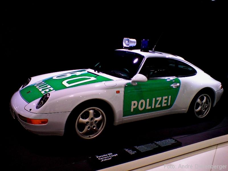 Porsche Museum 911er Autobahnpolizei