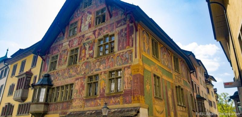 Schaffhausen - Haus zum Ritter