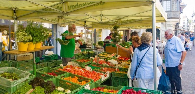Schaffhausen - Wochenmarkt
