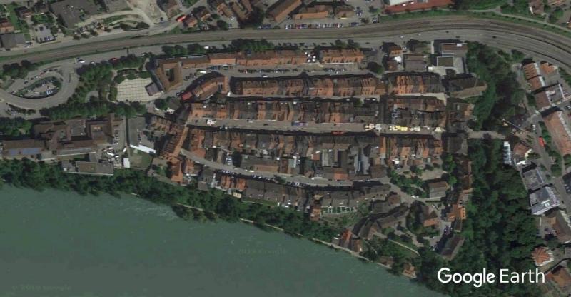 Waldshut von oben (by Google Earth)