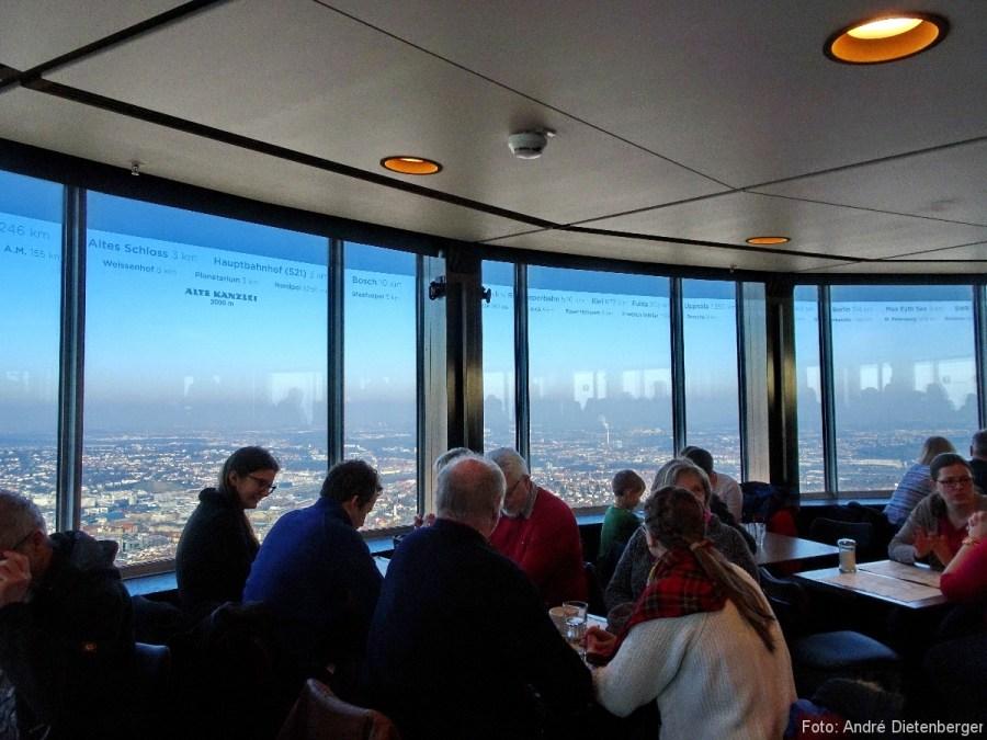 Fernsehturm - Panoramacafé