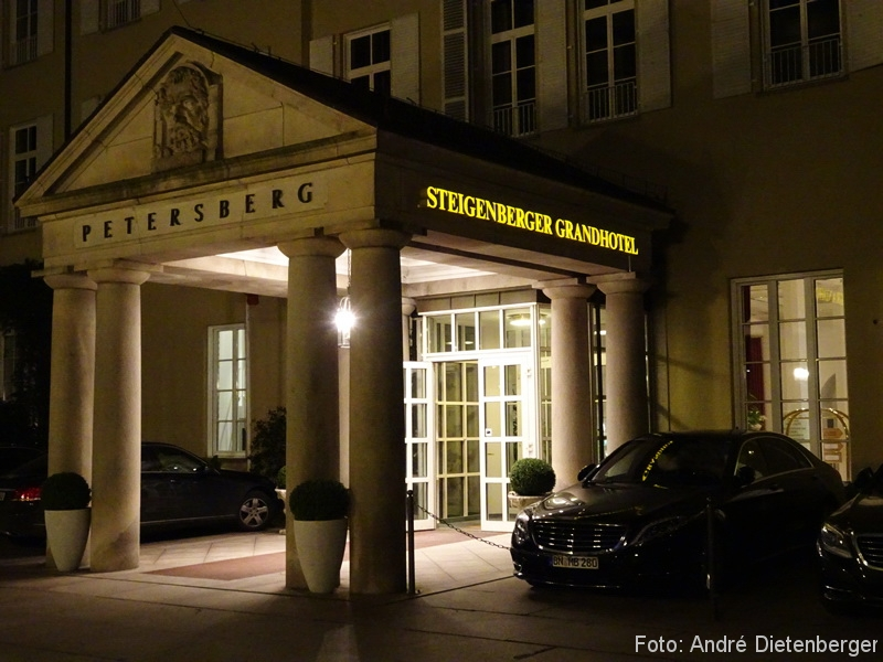 Grandhotel Petersberg - Eingang