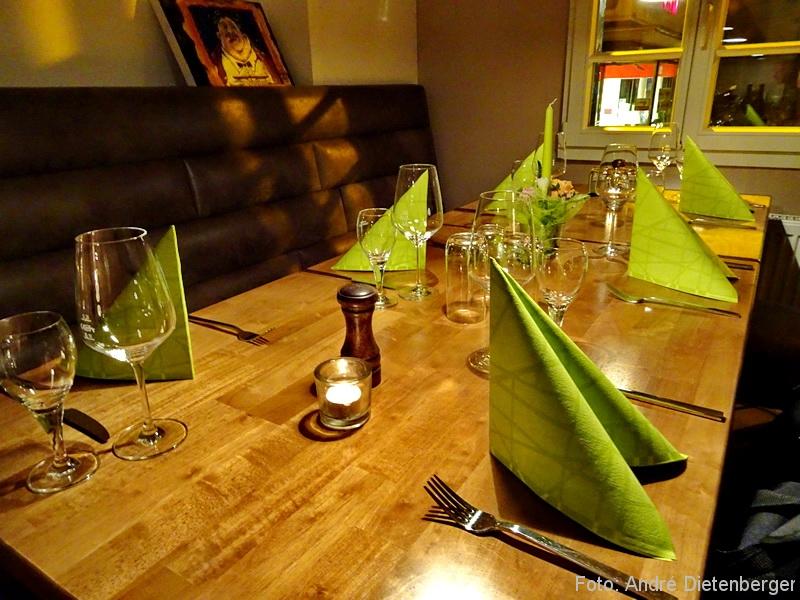 Weinhaus Alter Zoll - Tisch