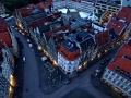 Münster - Lambertikirche - Sicht vom Turm in die Stadt
