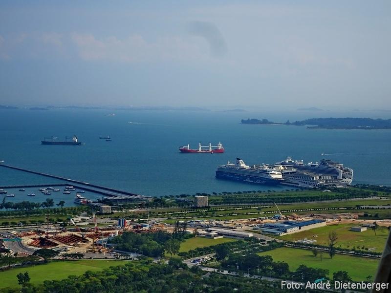 Singapore - Auf Reede