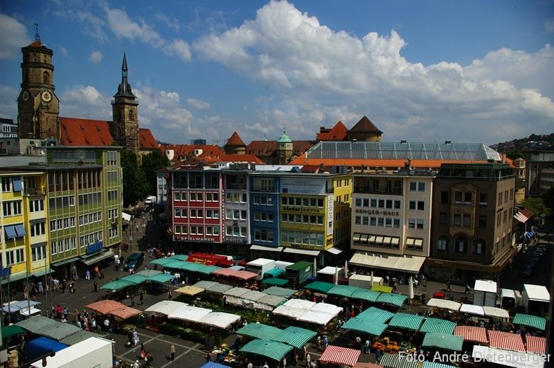 Stuttgart - Marktplatz