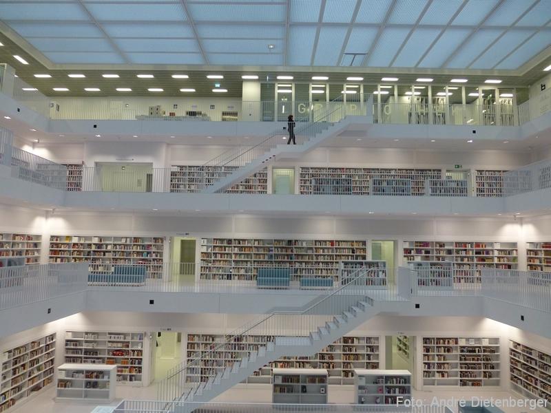 Stuttgart - Neue Bibliothek