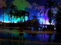 Tropical Islands Südsee bei Nacht